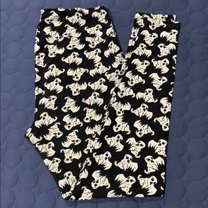 LuLaRoe ghost leggings